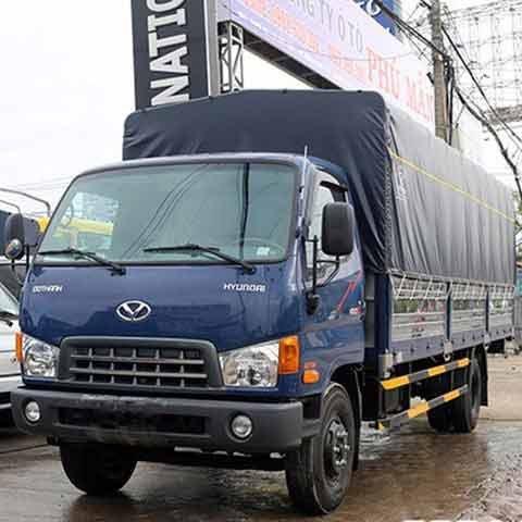 Xe Tải Hyundai 8 Tấn HD120SL - Thùng mui bạt